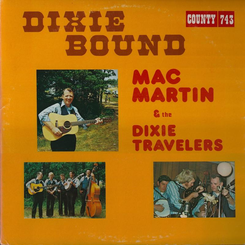 Mac & the Dixie Travelers around the time of the Walsh's session.