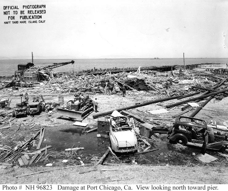 1944 - Port Chicago Explosion (highlighted story below)