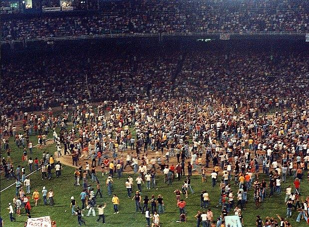 1979 - Disco Demolition Night, Chicago (highlighted story below)