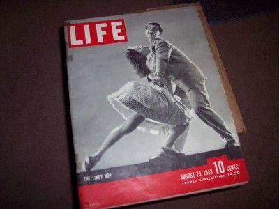 1943 - The Lindy Hop (highlighted story below)