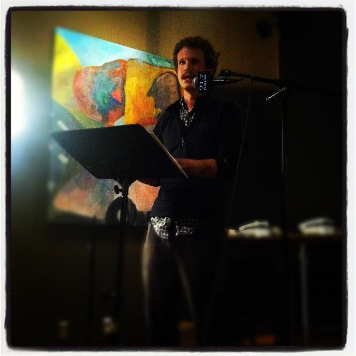 "Science writer Max McClure won KALW's first ever ""Hear Here Story Slam-wich."""