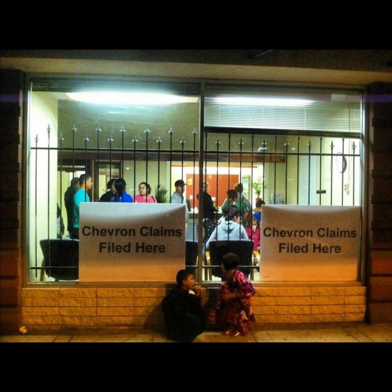 People at attorney Nicholas Haney's office in Richmond, CA. August 7, 2012.