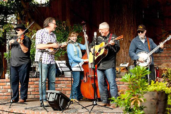 Bluegrass band Dark Hollow say bluegrass is booming in the Bay Area.