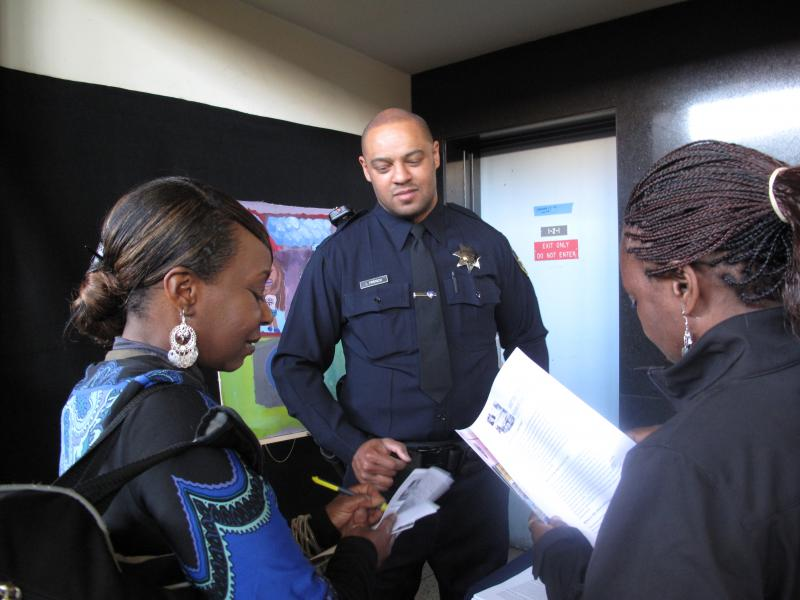 Oakland Police Department hosted its first open house in May 2012 to build community relations