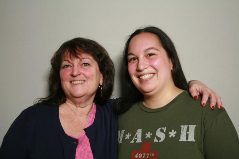 Robyn Raber Luna with her daughter, Rachel Luna Hemmer