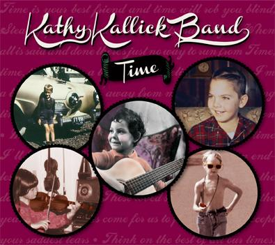 Originals from Kathy and band members Tom Bekeny and Greg Booth, plus fresh interpretations of songs learned from Bill Monroe, Vern & Ray, the Delmore Brothers, Rose Maddox & Mike Seeger, Fiddlin' Arthur Smith, and Kathy's mother.