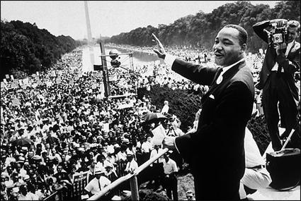 "1963 - MLK's ""I Have A Dream"" speech (highlighted story below)"