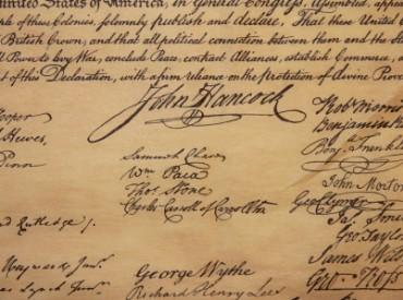 On August 2, 1776, members of the Continental Congress began adding their signatures to the Declaration of Independence.
