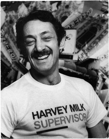 Harvey Milk during his second unsuccessful run for San Francisco Board of Supervisors.