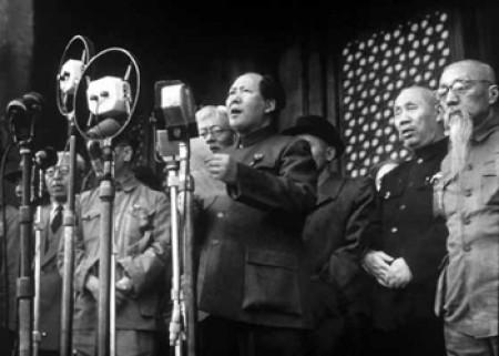 1949 -- Mao at the Chinese People's Political Consultative Conference (highlighted story below)