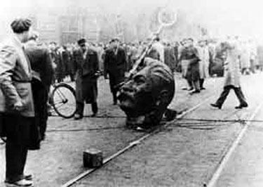 1956 - Hungary protests Soviet occupation (highlighted story below)