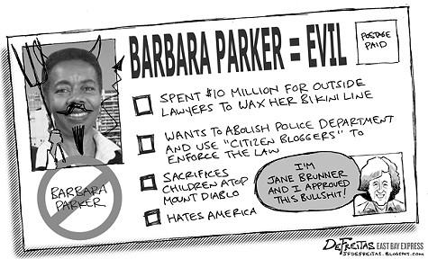 East Bay Express political cartoon