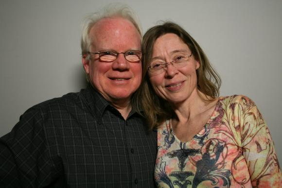Chip Curry and Diana Roberts spoke at the San Francisco StoryCorps booth