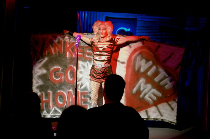 Hedwig is back in San Francisco at the Tenderloin's Boxcar Theater