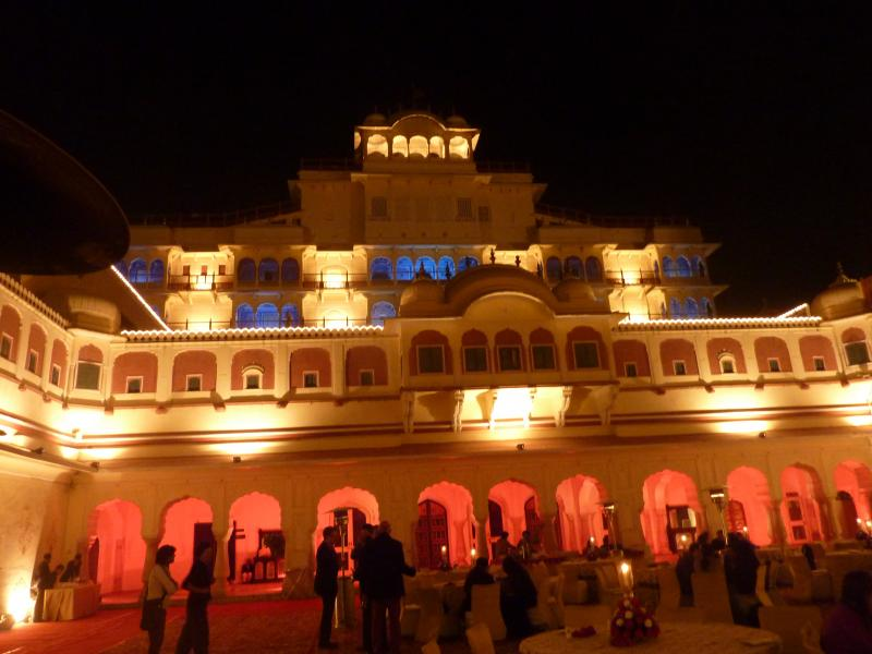 Party at Jaipur Literary Festival