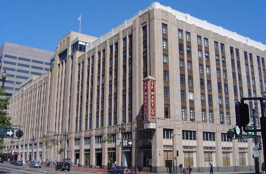 Twitter headquarters in San Francisco's Mid Market district