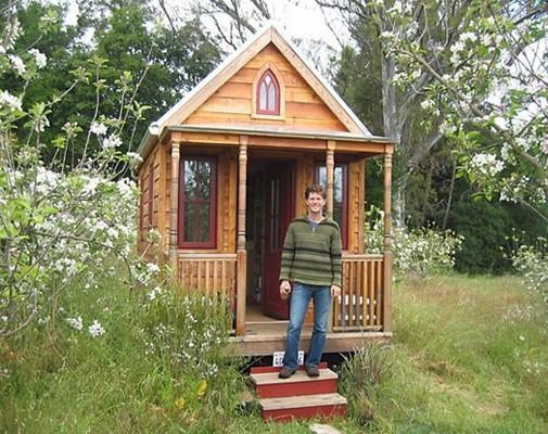 The luxury of living in a tiny house KALW