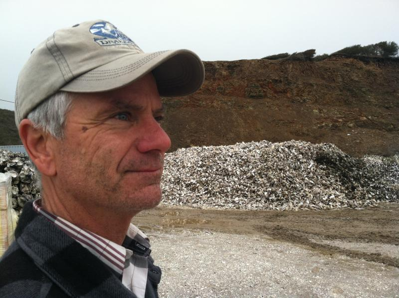 Kevin Lunny, owner of Drakes Bay Oyster Co.