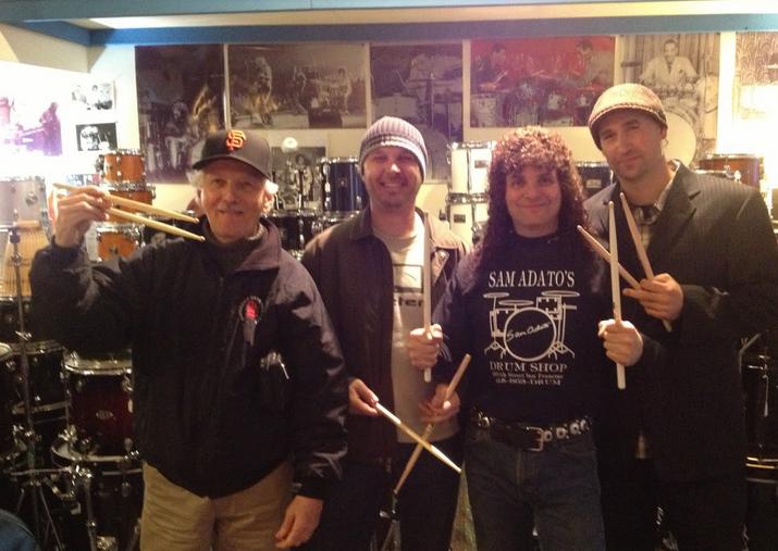 From left to right: Vince Lateano, Adam Willis, Sam Adato, and Brandon Etzler