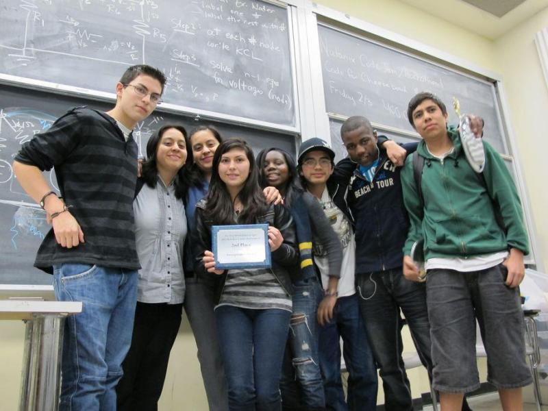The Fremont High School debate team.