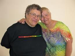 Judy Rickard, left, and her wife, Karen Bogliolo