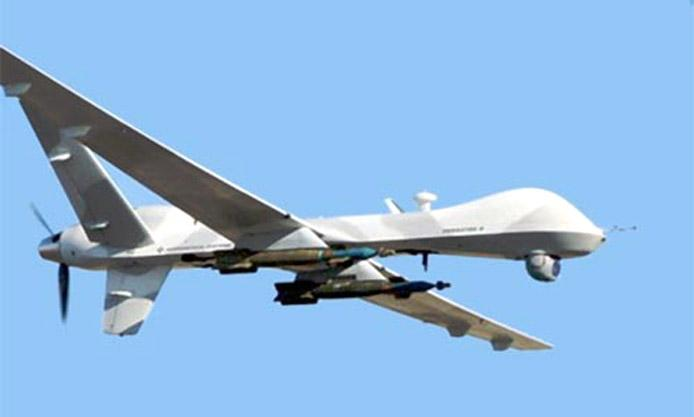 An MQ-9 unmanned aerial vehicle.