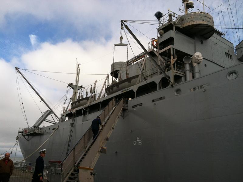 SS Jeremiah O'Brien docked at Pier 45 in San Francisco