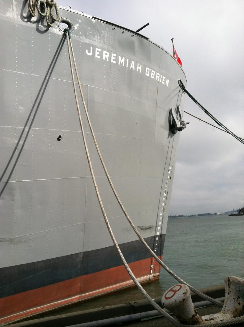 SS Jeremiah O'Brien docked at Pier 45 in San Francisco