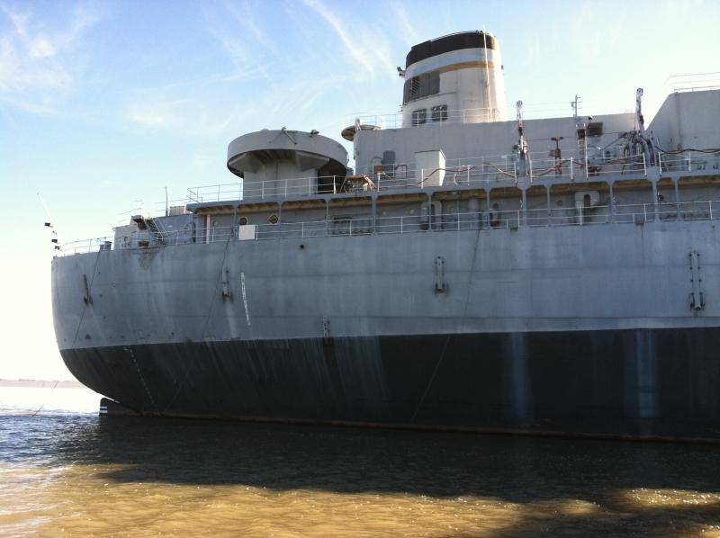 USS Hassayampa anchored in the Naval Defense Reserve Fleet in Suisun Bay