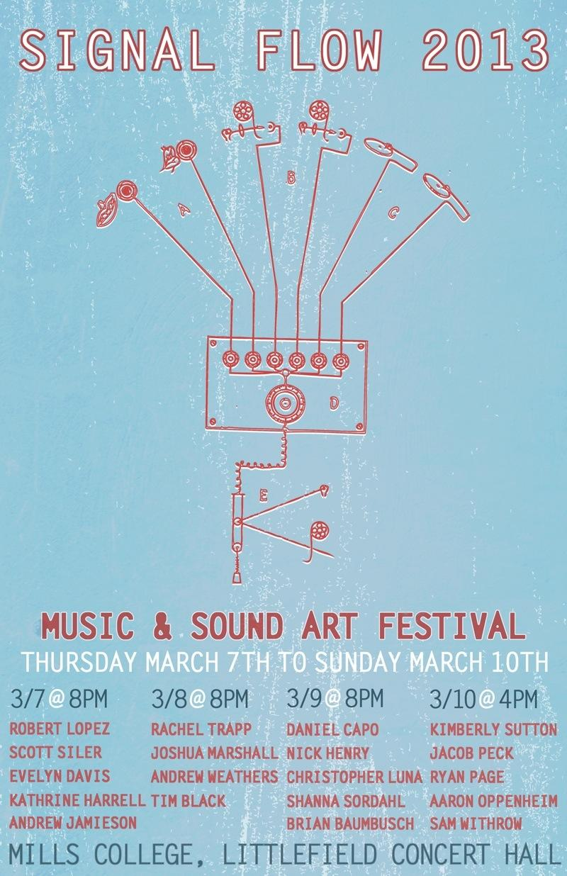 The Signal Flow festival runs March 7th-10th
