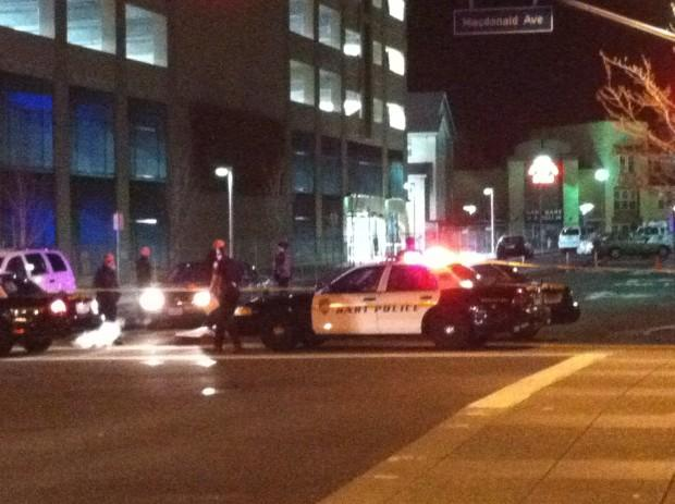 A man was shot dead at the Richmond BART station during rush hour.