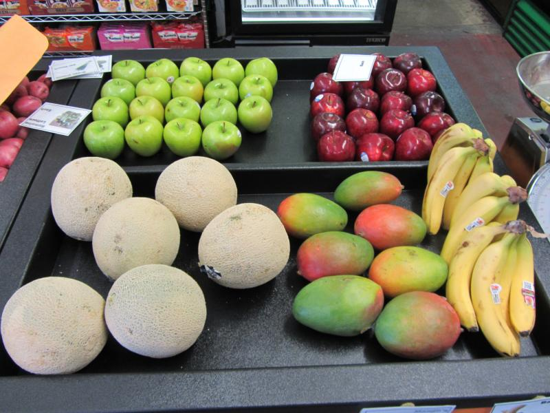 Fruits at Ford's Grocery