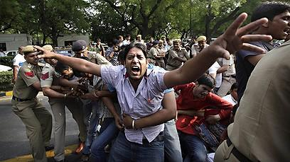 Protests in Dehli