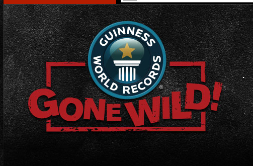 Guinness World Records Gone Wild is a reality show on the TruTV channel.