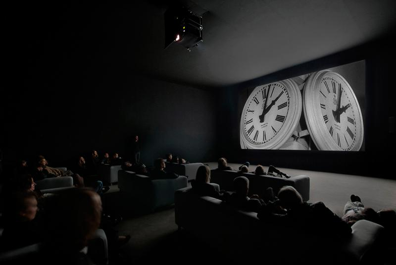 The Clock, 2010, by Christian Marclay; single-channel video with stereo sound