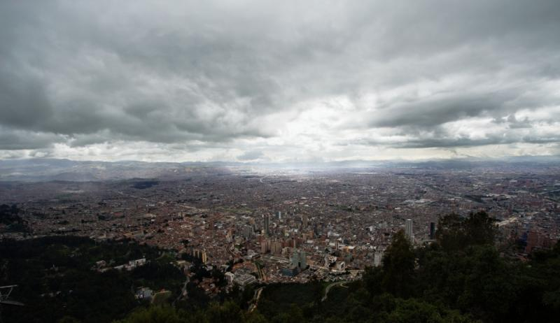 Clouds over Bogotá, Colombia
