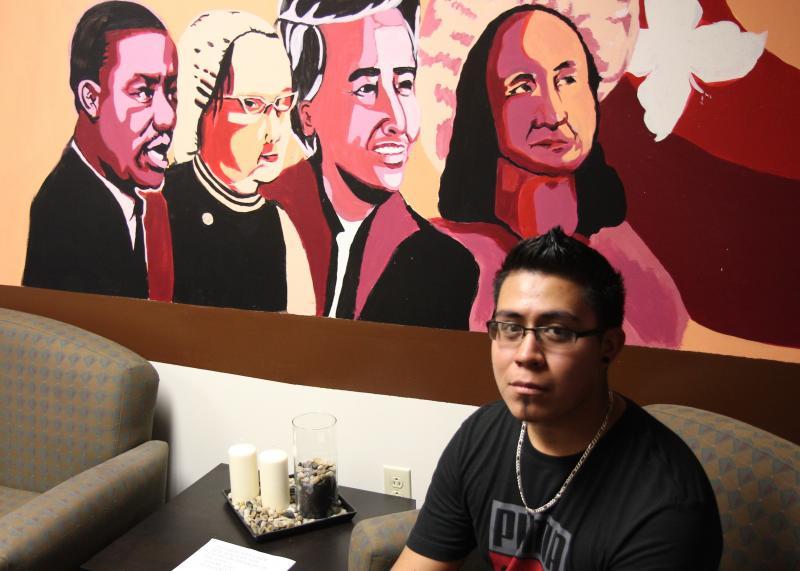 Carlos Hernandez Martinez, at the Undocumented Student Program, UC Berkeley