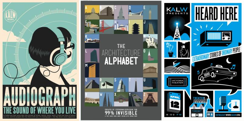 Local Powered Radio Poster Pack