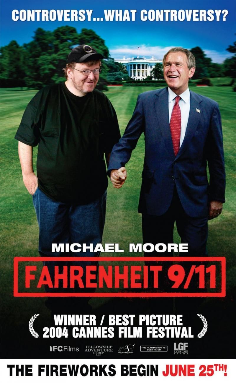 'Farenheit 9/11' screening this Friday at the Main Branch of the SFPL