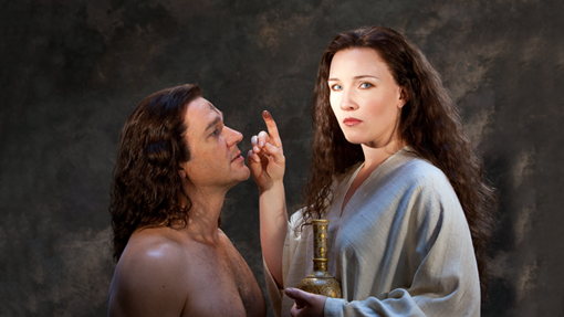 "Nathan Gunn & Sasha Cooke in ""The Gospel of Mary Magdalene"""