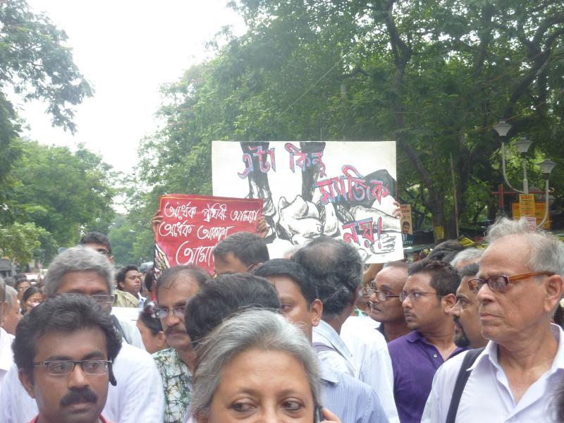 Rally against rape in Kolkata