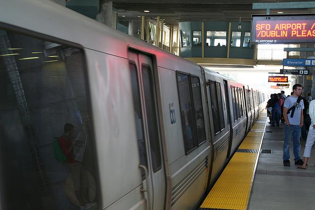 Millbrae BART Station (via flickr user terraplanner)