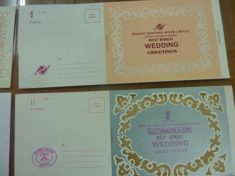 Telegram greeting cards