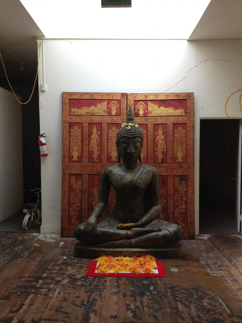 Giant Buddha at [freespace]