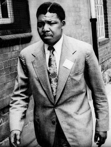 Nelson Mandela in 1961