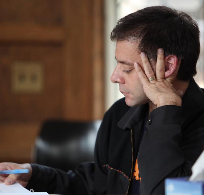 Playwright Rob Handel