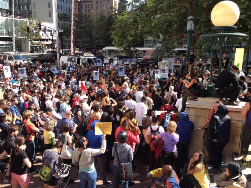 Oakland residents protest Zimmerman verdict