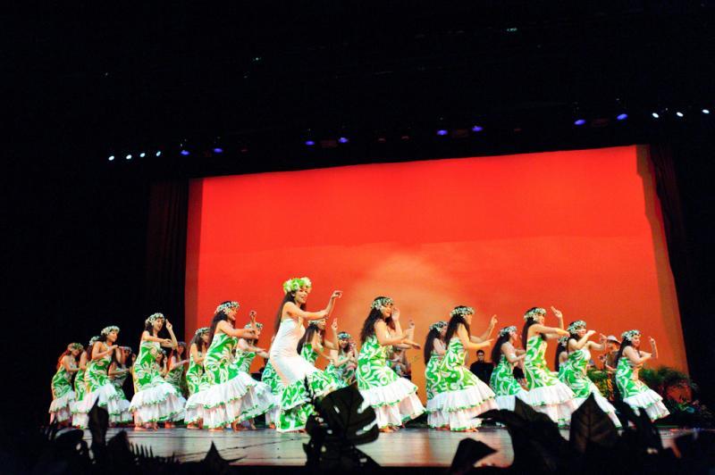 Te Pura O Te Polynesian dance troupe