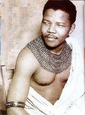 A Young Nelson Mandela