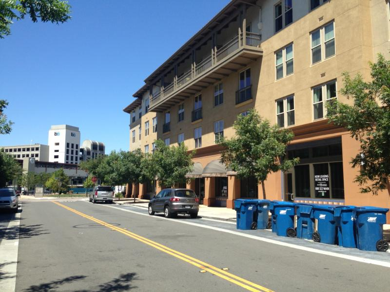 The Contra Costa Centre, another TOD in unincorporated Walnut Creek (Isabel Angell)